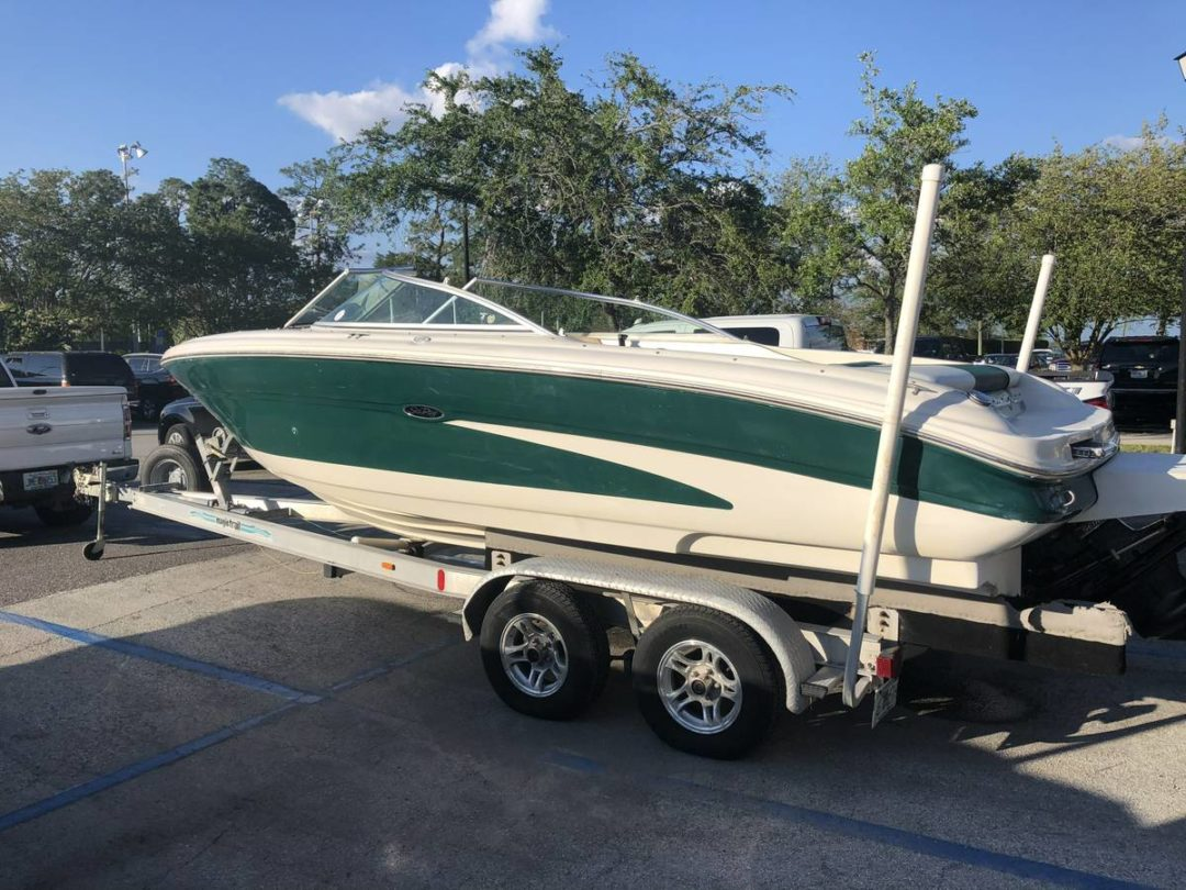 2001 Sea Ray 21 ft Bow Rider